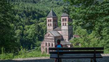 Hiking route : Murbach - Hohrupf (ruined castle)